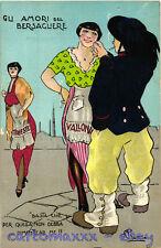 WW1 WWI Propaganda - Bersagliere - Trieste Valona - Retrosi - Umoristica - PV278