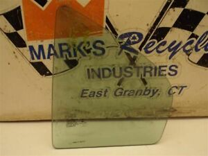 Driver Left Rear Door Vent Glass Tinted Fits 06-12 FUSION 172110