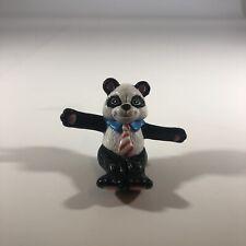 VTG 1988 Andy Panda Bear Rubber Mini Figure Macmillan Cake Topper Toy