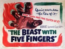 The Beast with Five Fingers 1946 - Robert Alda - Andrea King - Peter Lorre - DVD