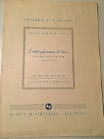 Hermann Brockpähler - Frühlingsfreuden-Walzer - für Männer-Chor - Partitur