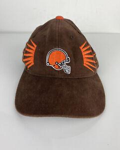 Youth VTG RETRO Starter NFL Pro Line Cleveland Browns corduroy strapback hat