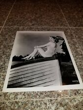 VINTAGE 8 X 10 PHOTOGRAPH FROM IRVING KLAWS ARCHIVES OF LORI NELSON LOT #1