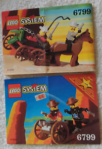 LEGO 6799 Western Showdown Canyon Combo Pack Vintage 1997