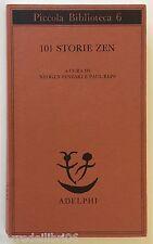 101 STORIE ZEN  Senzaki, Reps Adelphi 1993