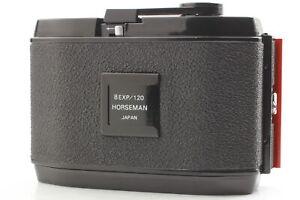 ☆[Near MINT]  Horseman 8EXP 120 Roll Film Back Holder 6x9 for 4x5 From JAPAN
