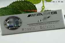 D386 unterschrift for amg bunt Auto 3D Emblem Badge Aufkleber KFZ Car Sticker