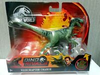 Jurassic World Toys Dino Rivals Velociraptor Charlie Figure Mattel New