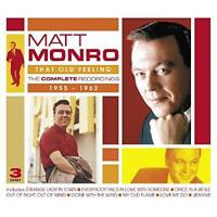 Matt Monro - That Old Feeling - The Complete Recordings 1955-1962 (NEW 3CD)