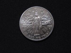 1989 D Congress Bicentennial Liberty Uncirculated Silver Dollar