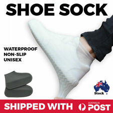 Shoes Covers Unisex Reusable Anti-Slip Silicone Waterproof Rain Water Protector