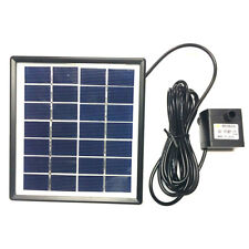 Solar Fountain Garden Water Pump 12V/5W For Landscape Pool Maximum Flow FL