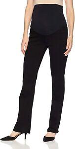 NYDJ Black Straight Maternity Women's Jeans Size 4  83120