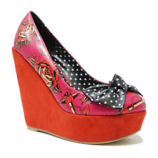 IRON FIST WOMENS LOVE ME NOW WEDGE SHOES