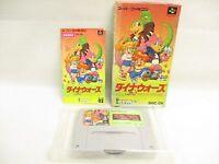 DINO WARS Dinosaurs Ref/ccc Super Famicom Nintendo sf
