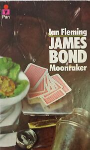 Moonraker by Ian Fleming FREE AUS POST acceptable condition Paperback '69