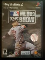 MLB 09: The Show Sony PlayStation 2 WITH CASE & MANUAL BUY 2 GET 1 FREE