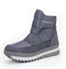 Winter Mens Shoes Ankle Snow Boots Fur Lining Round Toe Warm Comfort Shoes Ske15