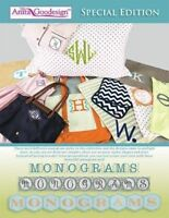 Monograms Anita Goodesign Embroidery Design Special Edition CD ONLY