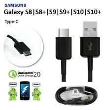Fast Charger For Samsung Galaxy S8 S9 S10+ Plus Type C USB-C Data Charging Cable