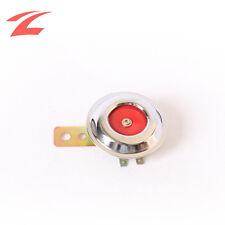 Hupe Signalhorn 12V Red/Chrome Mega Laut Universal für Motorrad Roller