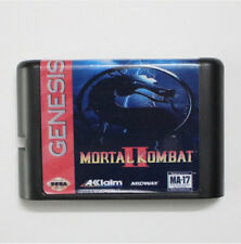 Mortal Kombat 2 16 bit MD Game Card For Sega Mega Drive For Genesis