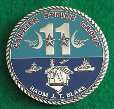 Modern Challenge Coin / Medal Carrier Strike Group 11 Radm J T Blake US USA Navy