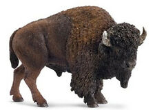 Schleich - American Bison (buffalo) toy figure NEW * Wild Life #14714