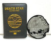 Star Wars Death Star Passport Holder & Free Patch