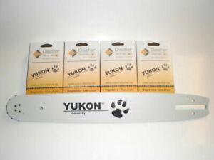 2 Yukon Sägeketten 325-1,6-62TG + 1 Schwert 37cm für Stihl 25 012 024 026