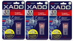 XADO EX120 Petrol Engine Oil Additive Treatment Save fuel, Reduce MOT Emissions