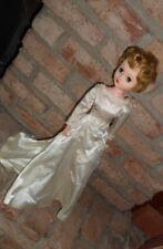 VINTAGE CANDY FASHION BRIDE DOLL 1958-65 ORIGINAL DRESS SLEEP EYES