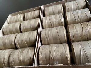 Silkworm silk 16 x Rolls 1.1kg Natural Beige Sewing Thread Box Sewing Machine