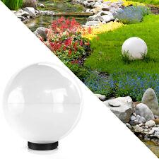 Kugelleuchte 50cm Kugellampe Leuchtkugel Außenlampe Gartenlampe Außenleuchte