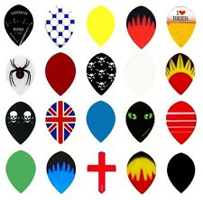 10 New Sets of Pear Shaped Dart Flights - Best Variety of Designs