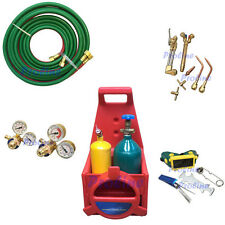 Professional Portable Torch Kit Oxygen Acetylene Oxy Welding Cutting Weld Tank