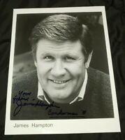 JAMES HAMPTON SIGNED 8x10 GLOSSY HEADSHOT PHOTO CONDORMAN DISNEY TEEN WOLF DOOL