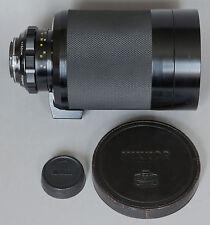 RARE-Fast Reflex-Nikkor 500mm/5 mirror lens Nippon Kogaku Nikon-good condition