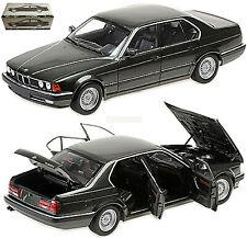 BMW 730i E32 Limousine 1986-92 Vert Métallique 1:18 Minichamps 100023004