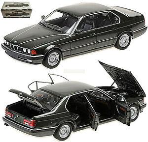 BMW 730i E32 Limousine 1986-92 Green Metallic 1:18 Minichamps 100023004