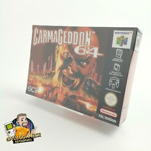 """Nintendo 64 Spiel """" Carmageddon 64 """" N64   OVP   PAL   Neu New Sealed Unused"""