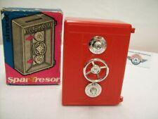 """simex Spar-Tresor """"SPARKASSE"""", rot, 60er Jahre, Made in W. Germany, OVP"""