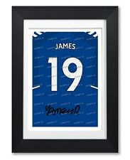 JAMES RODRIGUEZ EVERTON SIGNED POSTER PRINT PHOTO AUTOGRAPH SHIRT JERSEY GIFT