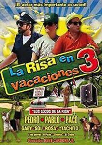 LA RISA EN VACACIONES 3 - PEDRO ROMO PABLO FERREL - USED DVD MOVIE DISC