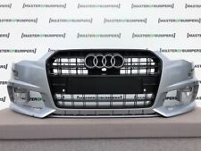 AUDI S6 BLACK EDITION 2015-2018 FRONT BUMPER IN SILVER GENUINE [A627]