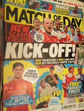 Match Of The Day BBC Magazine August 2010 #124-Posters-Theo Walcott/Mikel-Chelse