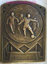 MED6248 - MEDAILLE FSGPF FOOTBALL ST MAURONT MARSEILLE  CHAMPION 1933-1934