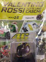 VALENTINO ROSSI TUTTI I MIEI CASCHI - SEASON 1997 AGV 1:5 - MIB NEW #04