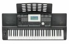 Deluxe Portable Keyboard - 61 Full Size Keys - Touch Responsive - Medeli A810