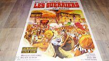 LES GUERRIERS   ! affiche cinema 1967 mascii , vikings , romains